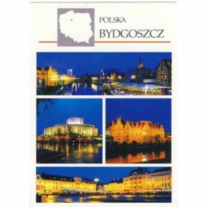 BYDGOSZCZ MAPKA WIDOKÓWKA WR6276