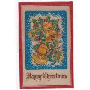 HAPPY CHRISTMAS POCZTÓWKA TRÓJWYMIAROWA A27935