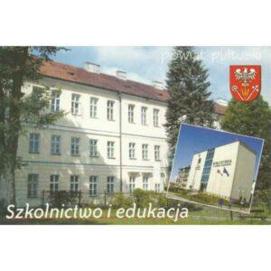PUŁTUSK POWIAT HERB WIDOKÓWKA A402