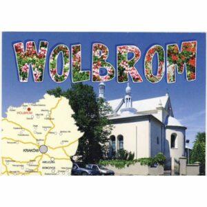 WOLBROM MAPKA WIDOKÓWKA WR6430