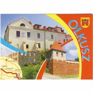 OLKUSZ HERB MAPKA WIDOKÓWKA WR6437