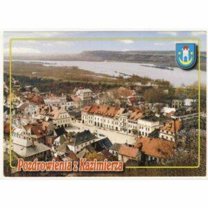 KAZIMIERZ DOLNY HERB WIDOKÓWKA A19985