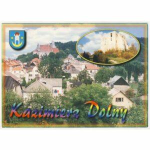 KAZIMIERZ DOLNY HERB WIDOKÓWKA A19986