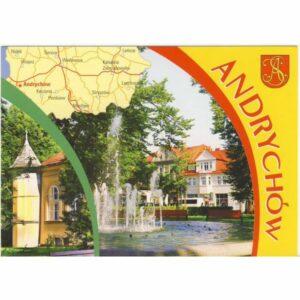 ANDRYCHÓW HERB MAPKA WIDOKÓWKA A24400