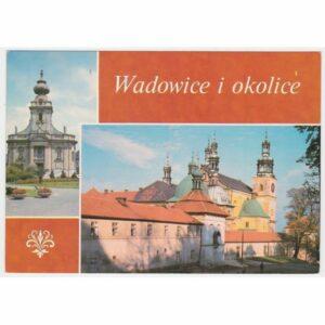 WADOWICE KALWARIA ZEBRZYDOWSKA WIDOKÓWKA A25264