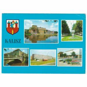 KALISZ HERB WIDOKÓWKA A25712
