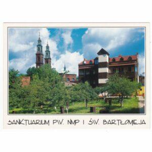 PIEKARY ŚLĄSKIE SANKTUARIUM WIDOKÓWKA A25800