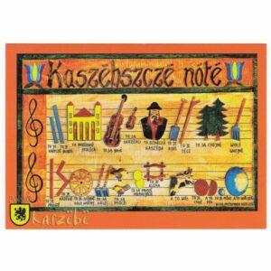KASZUBY KASZUBSKIE NUTY WIDOKÓWKA WR6978
