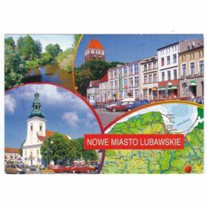NOWE MIASTO LUBAWSKIE MAPKA WIDOKÓWKA WR7067