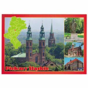 PIEKARY ŚLĄSKIE MAPKA WIDOKÓWKA 16P461