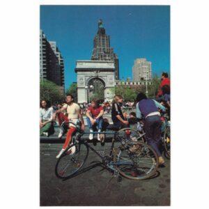 NEW YORK ROWERY WIDOKÓWKA A27493