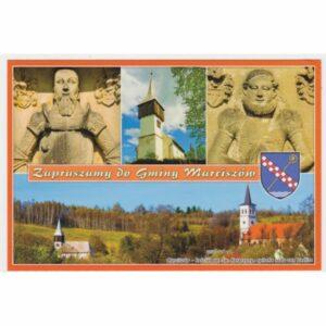 MARCISZÓW HERB WIDOKÓWKA A29016