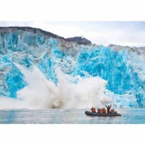ALASKA GLACIER BAY POCZTÓWKA 3D TRÓJWYMIAROWA 3D495
