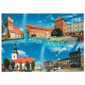NOWE MIASTO LUBAWSKIE WIDOKÓWKA WR7118