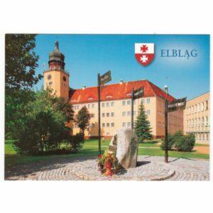 ELBLĄG HERB WIDOKÓWKA WR7221