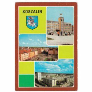 KOSZALIN HERB WIDOKÓWKA A29192