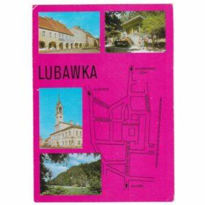LUBAWKA MAPKA WIDOKÓWKA A29202