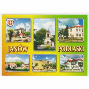 JANÓW PODLASKI HERB WIDOKÓWKA A29256