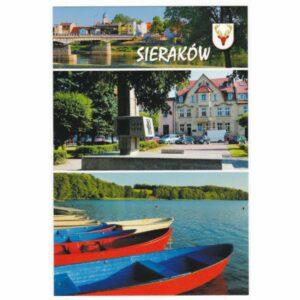 SIERAKÓW HERB WIDOKÓWKA WR7485