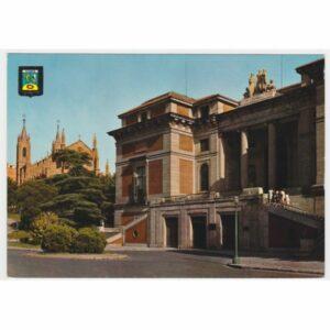 HISZPANIA MADRYT MUSEO DEL PRADO WIDOKÓWKA A31903