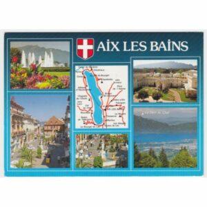 FRANCJA AIX LES BAINS MAPKA WIDOKÓWKA A32783