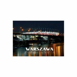 WARSZAWA POCZTÓWKA 3D TRÓJWYMIAROWA 3D564