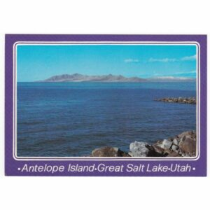 ANTELOPE ISLAND UTAH WIDOKÓWKA A39135