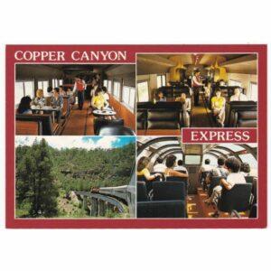 COPPER CANYON EXPRESS WIDOKÓWKA A40553