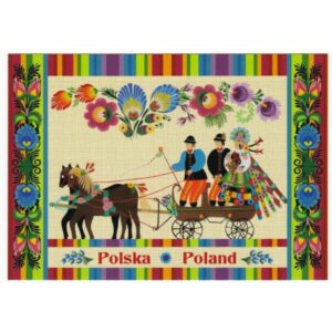 POCZTÓWKA FOLKLOR POLSKA 17P495
