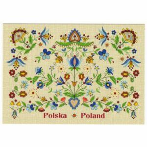 POCZTÓWKA FOLKLOR POLSKA 17P497