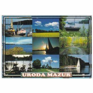 MAZURY WIDOKÓWKA A42666