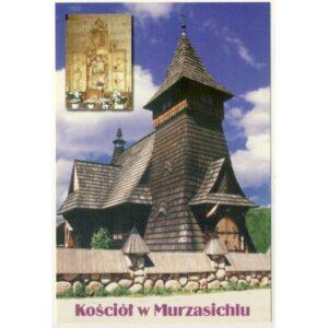 PORONIN MURZASICHLE KOŚCIÓŁ WIDOKÓWKA A51262