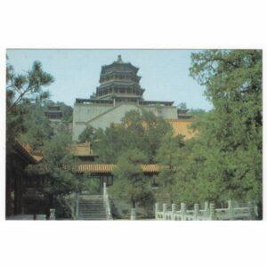 CHINY BUDDHISE PAVILION WIDOKÓWKA A42892