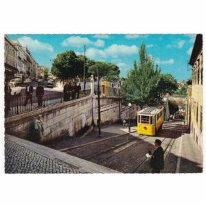 PORTUGALIA LIZBONA TRAMWAJ WIDOKÓWKA A42990