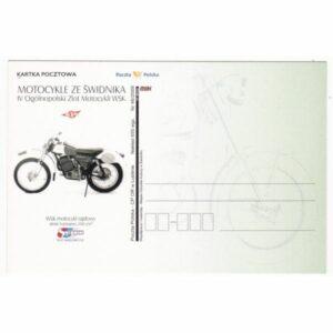 MOTOCYKLE ZE ŚWIDNIKA KARTKA POCZTOWA A43195