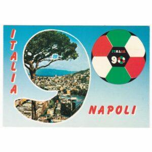 PIŁKA NOŻNA MUNDIAL ITALIA 1990 POCZTÓWKA A41636