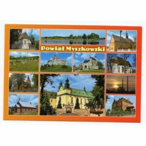 MYSZKÓW POWIAT MYSZKOWSKI WIDOKÓWKA 17P504