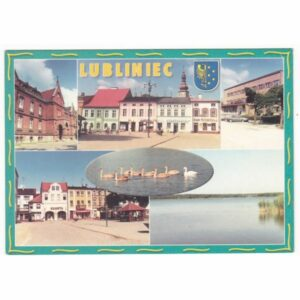 LUBLINIEC HERB WIDOKÓWKA A44132