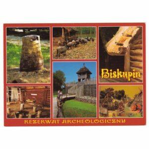 BISKUPIN WIDOKÓWKA A44172