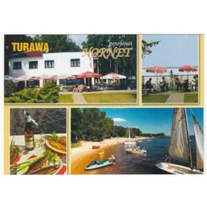 TURAWA JEZIORO TURAWSKIE WIDOKÓWKA A44202