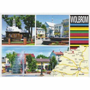 WOLBROM MAPKA WIDOKÓWKA A44534