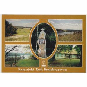 KASZUBSKI PARK KRAJOBRAZOWY WIDOKÓWKA A45437