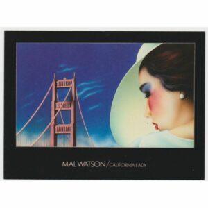 CALIFORNIA LADY POCZTÓWKA ARTYSTYCZNA A45567