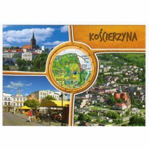 KOŚCIERZYNA MAPKA WIDOKÓWKA WR8151