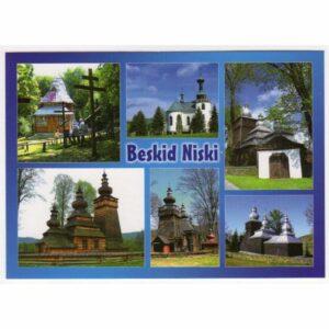 BESKID NISKI CERKIEW WIDOKÓWKA WR8570