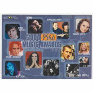 ESKA MUSIC AWARDS 2004 POCZTÓWKA A48293