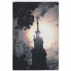 CZĘSTOCHOWA JASNA GÓRA ŚWIATOWY DZIEŃ MŁODZIEŻY WIDOKÓWKA A48875