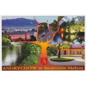 ANDRYCHÓW HERB WIDOKÓWKA A49063