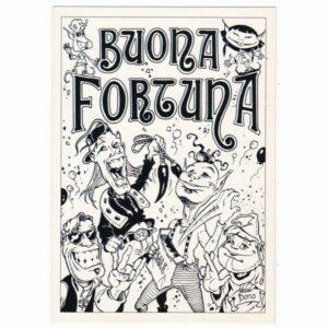 CRAZY ELFS BY BONO 1995 KOMIKS POCZTÓWKA A49889