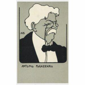 ANTONIO FOGAZZARO POCZTÓWKA A50725